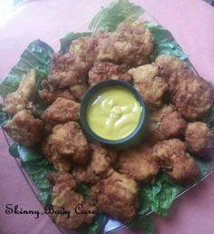 Chicken Nuggets w Honey Mustard Sauce