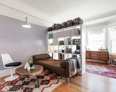 Instant Upgrade: A Quick Trick to Turn Your Studio into a 1 Bedroom — Curbed http://on.apttherapy.com/tkTwiP  #SmallSpaces