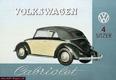 VW - 1949 - Volkswagen Cabriolet 4 Sitzer - [6637]-1