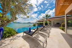 Baan Kularb (Bophut, Koh #Samui) has been designed to maximize enjoyment of the tropical island climate and completely encompasses the concept of the indoor and outdoor #tropical living experience. Last Minute Offer 40% OFF