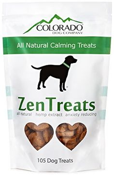 Zen Treats – The All-Natural, Anti-Anxiety, Hemp Extract Dog Treats,  Recommended for use with pets who experience stress or anxiety with separation, or introduction into new homes or other pets, made with hemp oil extract and our proprietary blend. PROMOTES RELAXATION