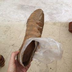 Making a shoe dummy