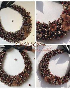 RalucaOhWeGlow | Breslo Christmas Wreaths, Necklaces, Holiday Decor, Home Decor, Decoration Home, Room Decor, Chain, Collar Necklace, Wedding Necklaces