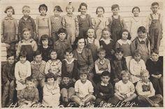 Graves County, Kentucky Books & Photos: 1934 Hickory School, Graves County, Kentucky