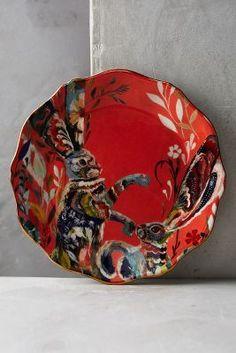 Starla Michelle Halfmann Mooreland Dessert Plate