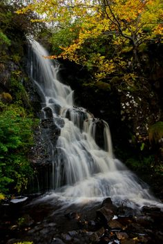 Dunvegan Castle waterfall- Skye