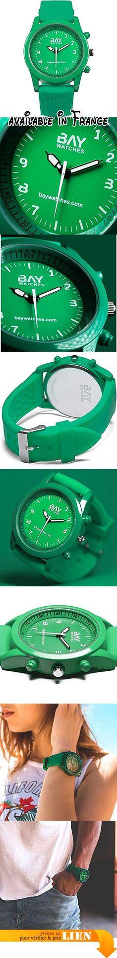 B06XJXGRWC : Montre pour Hommes et Femmes Vert de bracelet analogique Copacabana. Montre pour Homme et Femme Analogique vert de bracelet Copacabana.  bretelles ergonomiques Résistant aux éclaboussures non étanche horloge de la mode en ligne. baywatches est le montre spécial pour cet été: une montre de couleurs de qualité suprême manecillas réfléchissantes visibles dans l'obscurité Poids: 150grammes mouvement: Quartz Japonais. envios très discrets.