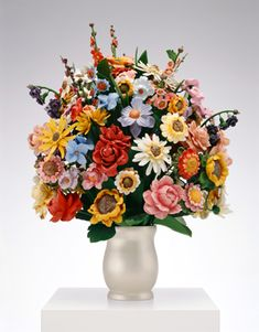 Jeff Koons - Made in Heaven: Large Vase of Flowers (1989)
