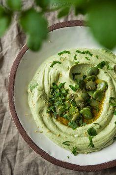 jadłonomia · roślinne przepisy: Hummus z bobu