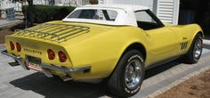 1969 Corvette Stingray Convertible For Sale 1969 Corvette, Old Corvette, Corvette For Sale, Chevrolet Corvette, Chevy, Pictures Of America, Classic Chevrolet, Engin, Mellow Yellow