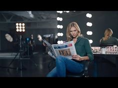 Karlie Kloss Interview on Why She Makes Time to Read The Wall Street Journal - YouTube