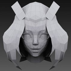 Picked up by CGchips. tutorials and news site… 3d Model Character, Character Modeling, Game Character, Character Design, Zbrush, Wireframe, Low Poly, Blender 3d, Polygon Modeling