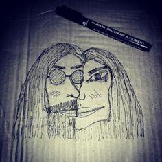 John and yoko in love ❤