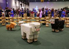Minecraft convention Minecon came to London this weekend, as 10,000 fans of the game descended on the Excel centre.