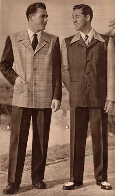 Mens 1940 Fashion Fashion | Mens 1940s Sport Coats and Pants History - 1940s Fashion | 1940s ...