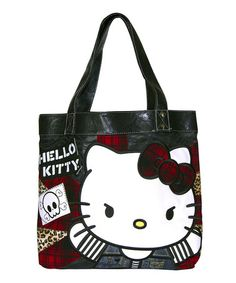 Look what I found on  zulily! Hello Kitty Punk Invasion Tote by Loungefly   54ae0af820