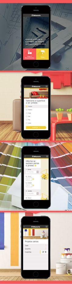 Telhanorte - App mobile - Calculadora de Pisos e Tintas