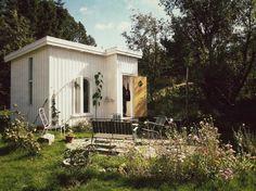 Hand-built house in Tjärnskogen, Bohuslän, Sweden. Submitted by builder Moa Sandblad.