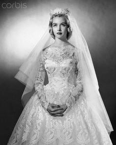 1950's bride                                                                                                                                                     More