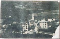 1915 Un Saluto da Margno (Valsassina) P. & G. Signorelli - Lecco - 1939 riproduzione vietata cartolina con francobollo Italia da 5 cent.