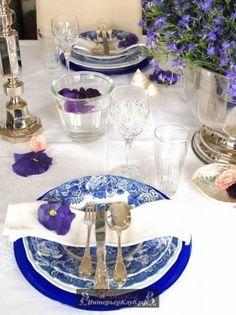 Украшение стола живыми цветами, украшение стола цветами фото (2)