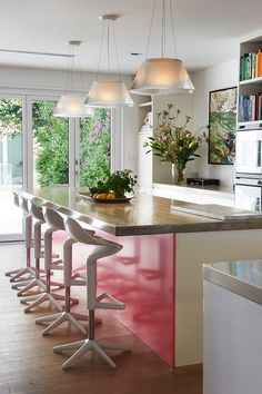 Tamarama kitchen by Briony Fitzgerald Design, profiled on the Temple & Webster blog as part of David Clark's Edit. Image - Brigid Arnott. http://blog.templeandwebster.com.au/david-clarks-edit-briony-fitzgerald-design