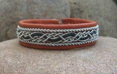 Sami Jewelry Swedish Lapland Bracelet With Tan by spiritofthenorth