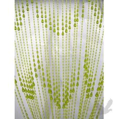 Superbowl decorations - Beaded curtains