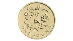 The new designs for £1 coins will continue a series celebrating the floral emblems of the nations.The shamrock and flax plant feature on the £1 of Northern Ireland.