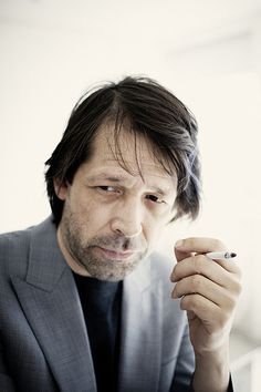 Art Director and graphic designer Peter Saville (b. 1955) who made new order and joy division cover album