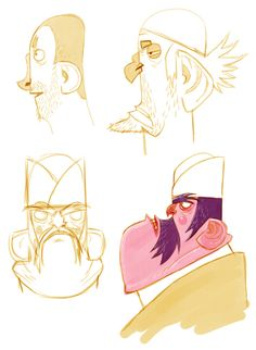 hadi characters & sketches ★ Find more at http://www.pinterest.com/competing