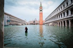 Photographer Natalia Elena Massi recorded the record-breaking floods that occurred in Venice in November The acqua alta reached up to 6 feet. Atlantis, Venice In November, Venice City, Visit Venice, World Watch, Living In Italy, Reportage Photo, Water Me, Big Challenge