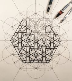 Gallery of This Architect Fuses Art and Science by Hand Illustrating the Golden Ratio - 1