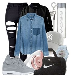 """""""ollie's outfit"""" by lifeofwild on Polyvore featuring La Preciosa, WithChic, '47 Brand, G-Shock, NIKE, Beats by Dr. Dre, men's fashion and menswear"""