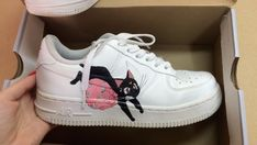 """competitive price d0324 9704d Sara Felicidade on Instagram  """"made by me 🍒  custom  nike  airforce1"""""""