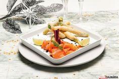 Receita de Tempura de espargos verdes com salmão fumado. Descubra como cozinhar Tempura de espargos verdes com salmão fumado de maneira prática e deliciosa com a Teleculinária!