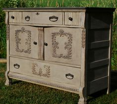 annie sloan painted stereo cabinet | Portfolio of My First Year ~ Which one is your favorite?