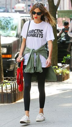 Alexa in an Arctic Monkeys t-shirt?!