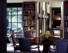 library dining space by mcalpine tankersley