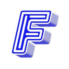 Blue series / 36 Days of type Graphic Design Posters, Graphic Design Typography, Lettering Design, Typography Alphabet, Typography Fonts, Type Design, Logo Design, Design Elements, Letter F