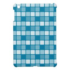 Cg Blue Check Case For The iPad Mini