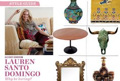 Style Guide: Lauren Santo Domingo