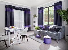 #eurofirany #mieszkanie #dom #wyposażeniewnętrz #dekoracja #styl #moda #zasłony #firany #homedecor #okno #ideas #room #PantonePosts #ultrafiolet #trendy #szyjemypasją