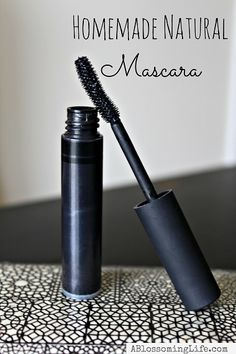 How To Make Natural Mascara -