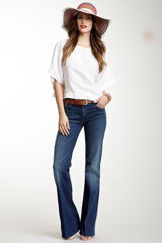 Mellow Drama Wide Leg Jean by MOTHER Denim on @HauteLook