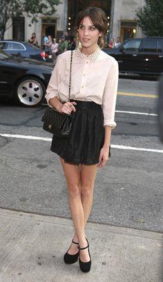 Alexa Chung   To Be Fashion: We love : Alexa Chung
