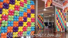 Balloon wall by Shivoo Balloons in Melbourne.