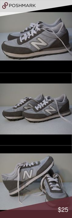 New Balance sneakers! New Balance sneakers in good condition! Small stains on right foot as shown in photo 4. Let me know if you have any questions and please make offers!❤️ New Balance Shoes Sneakers