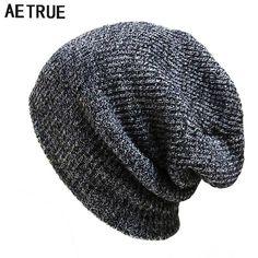 Apparel Accessories Punctual Fashion Men Bonnet Winter Thin Skullies Beanies Knitted Woolen For Mens Cap Beanie Gorros Warm Casual Outdoor Climbing Caps Boy's Hats