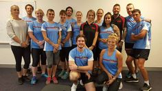 FIT College Success Story 👍🏻 #Maroochydore full time students met with Shane Lazarus & Leah Gardner today who are also past #fitcollege students.  Leah gave a really great insight into what it's like running her own PT business, Smashin Fitness.  Shane shared his awesome story with the students about where he started from, to where he is now. Shane is the owner of Universe Gym Caloundra.  The #fitcollege students were amazed with what is possible with a career in fitness.
